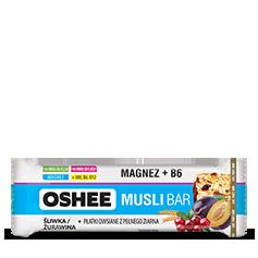 OSHEE Vitamin Musli Bar Śliwka & Żurawina